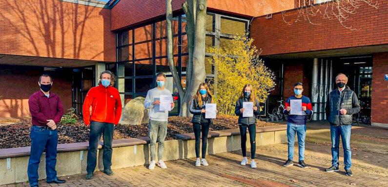 """IGS Helpsen: Seminar """"Erfolgreich Bewerben"""" in Coronazeiten / 133 Schüler erhalten Zertifikate"""