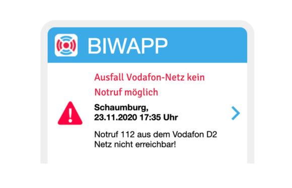 Störungen im Mobilfunknetz von Vodafone