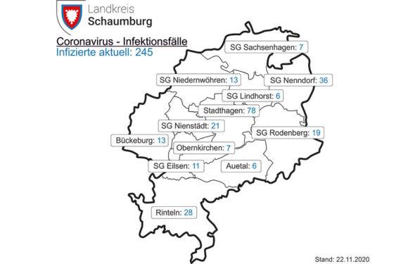 Corona im Landkreis: 48 Positivtestungen / Technische Schwierigkeiten sorgen für sinkende Inzidenzzahl