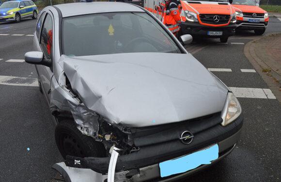 Obernkirchen: Verkehrsunfall mit zwei Verletzten
