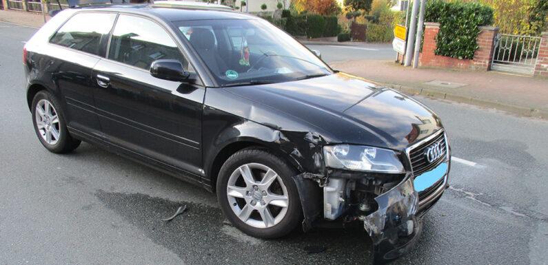 Obernkirchen: Nach Unfall weitergefahren / Polizei sucht Zeugen