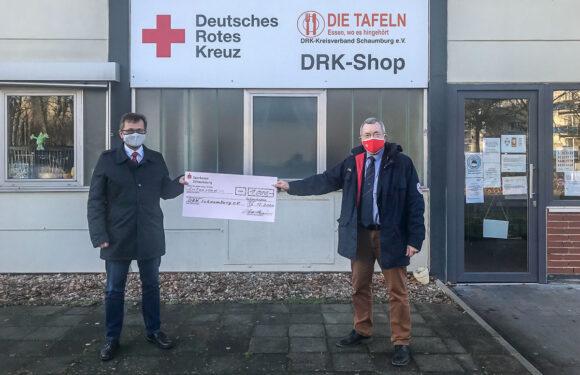 Spende der besonderen Art für den DRK Kreisverband Schaumburg
