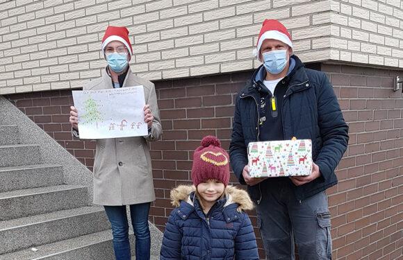Weihnachten im TSV Krainhagen: Vorstand belohnt Teilnehmer der Malaktion