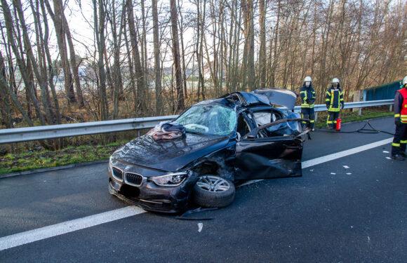 Tödlicher Verkehrsunfall auf der A2 zwischen Porta und Veltheim