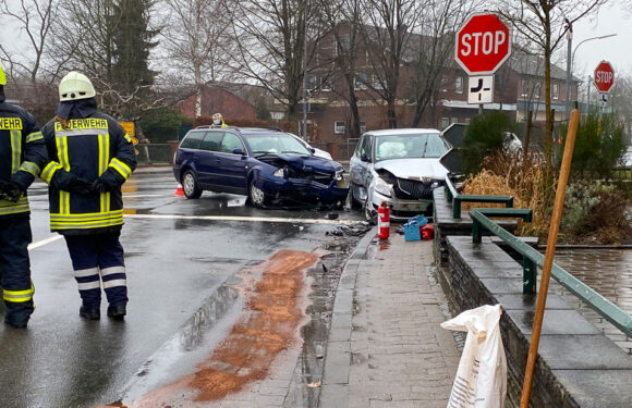 Verkehrsunfall in Hagenburg