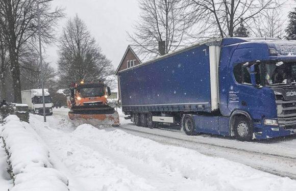 Wintereinbruch im Landkreis: Erstes positives Fazit der Polizei / Staus zwischen Buchholz und Obernkirchen