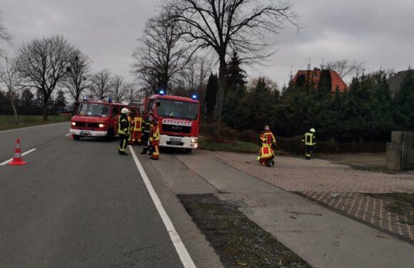 Brennender Föhn sorgt für Feuerwehreinsatz in Müsingen