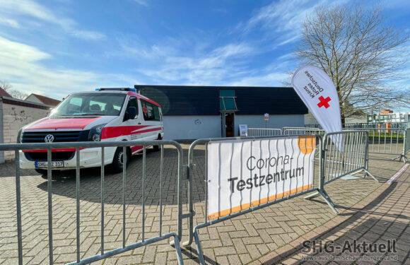 DRK-Corona-Testzentren in Bad Nenndorf, Obernkirchen, Rinteln und Stadthagen