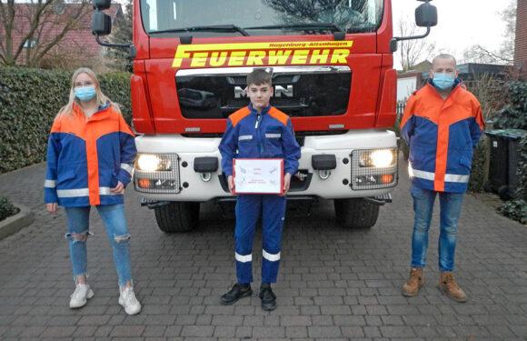 Jugendfeuerwehr Hagenburg/Altenhagen startet Onlinedienste mit Knotenboxen