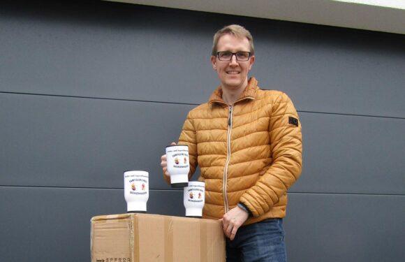 Sachsenhagen: Förderverein beschenkt Feuerwehrnachwuchs mit Thermobechern