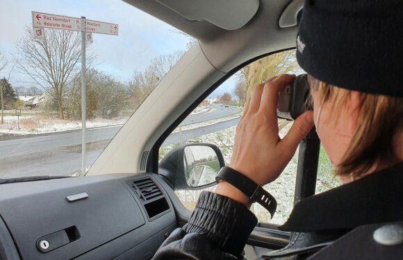 Stadthagen: Polizei führt Geschwindigkeitsmessungen durch