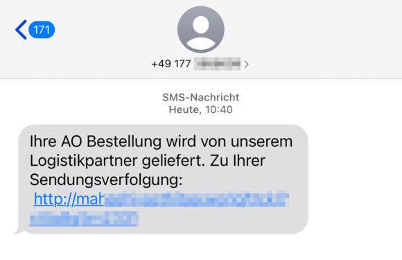 """Achtung, """"Smishing"""": Polizei warnt vor falschen Paketbenachrichtigungen"""