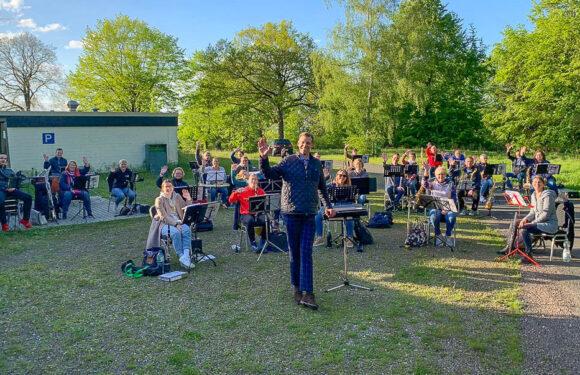 Blasorchester Krainhagen probt wieder