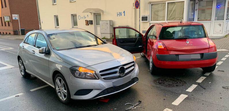 Bückeburg: Erneut Unfall an Kreuzung Unterwallweg/Oberwallweg