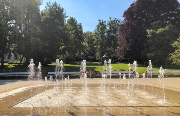 Bad Nenndorf: Springbrunnen-Saison ist eröffnet