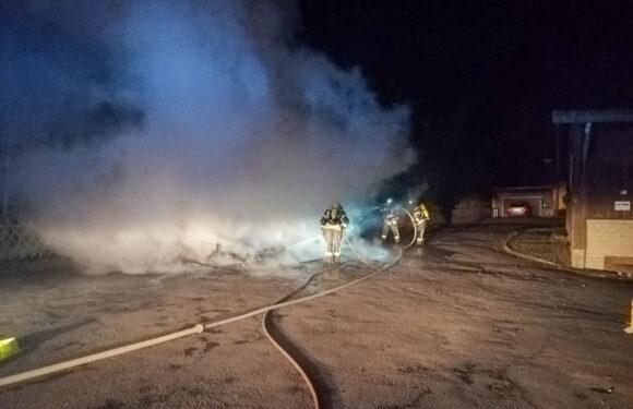 Feuerwehr löscht zwei Brände in Buchholz