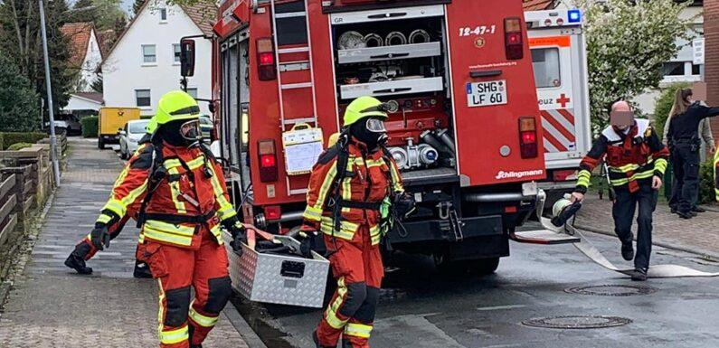 Küchenbrand löst Feuerwehreinsatz in Bückeburg aus