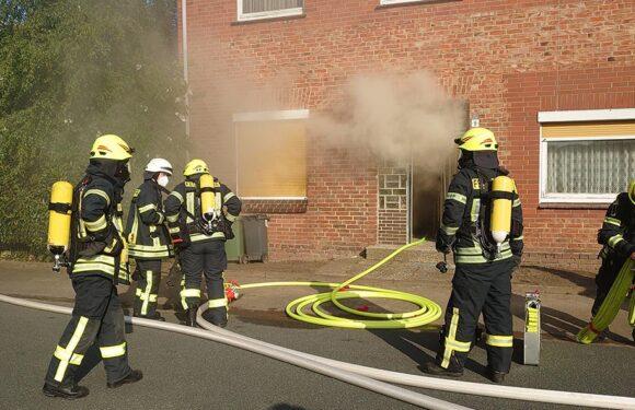 Feuerwehreinsatz in Hagenburg: Ein Verletzter nach Küchenbrand