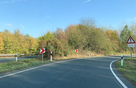 B83: Auffahrt auf Bundesstraße 65 in Richtung Minden wird ausgebessert