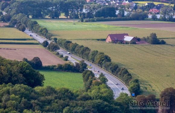 Bauarbeiten an B83 zwischen Steinbergen und Bad Eilsen starten jetzt am 20. September
