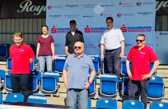 1. Schaumburger Sparkassen-Cup: Gruppenauslosung in Nienstädt