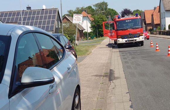 Hagenburg: Defektes Fahrzeug sorgt für Feuerwehreinsatz