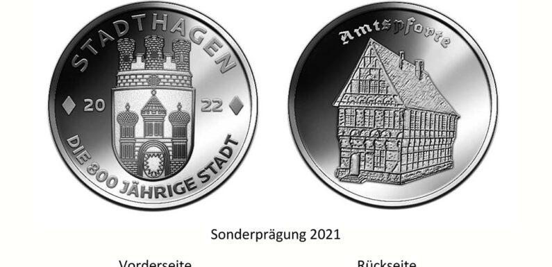"""Limitierte Sonderprägung """"Stadthagen – Die 800-jährige Stadt"""" bestellbar"""