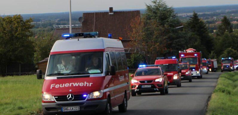 Schaumburger Kreisfeuerwehrbereitschaft unterstützt bei Hochwasserhilfe in NRW