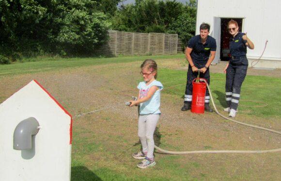 Erfolgreicher Schnupperdienst der Kinderfeuerwehren in Sachsenhagen