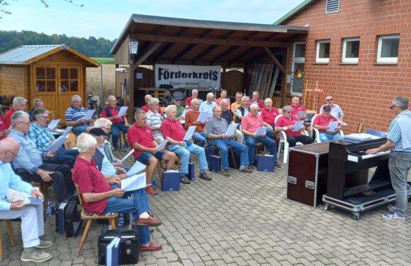 Männerchor Enzen-Hobbensen ist wieder musikalisch aktiv