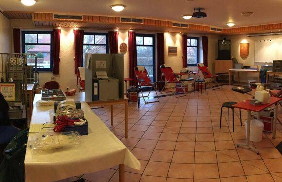 Blutspende bei Feuerwehr Meinsen-Warber