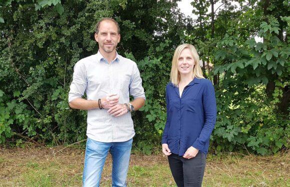 Maik Beermann fördert Nachwuchspolitikerin Judith Meier aus Bückeburg