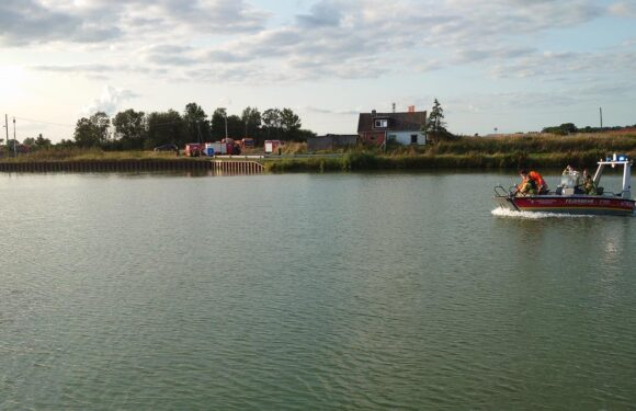 Sachsenhagen: Feuerwehr sucht am Mittellandkanal nach vermisster Person