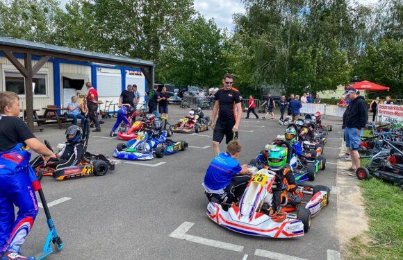 Vom Harz nach Brandenburg zum Meisterschaftstermin im Rundstrecken Einsteiger Cup Kart