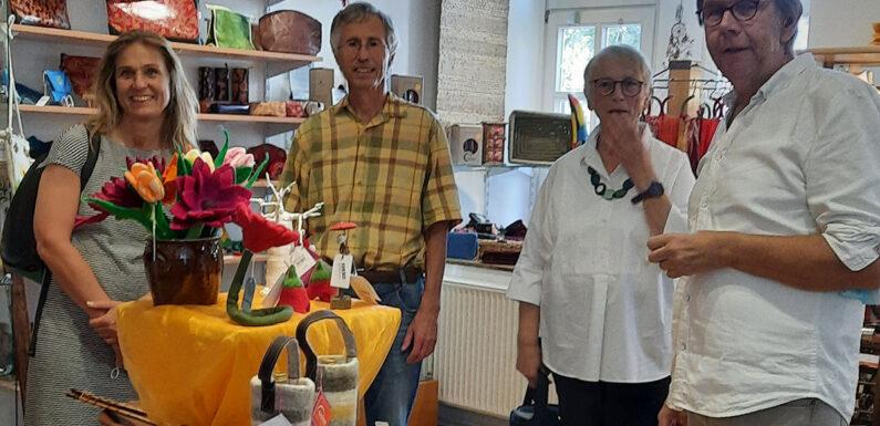 Global denken, lokal handeln: Grünen-Bundestagsabgeordnete Katja Keul zu Besuch im Weltladen Stadthagen