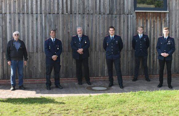 Jahreshauptversammlung der Feuerwehr Auhagen-Düdinghausen im Kreis der Aktiven