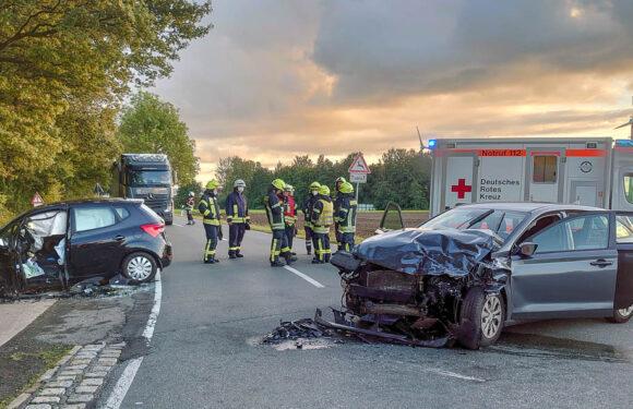 Vier Verletzte bei Verkehrsunfall zwischen Sachsenhagen und Lindhorst