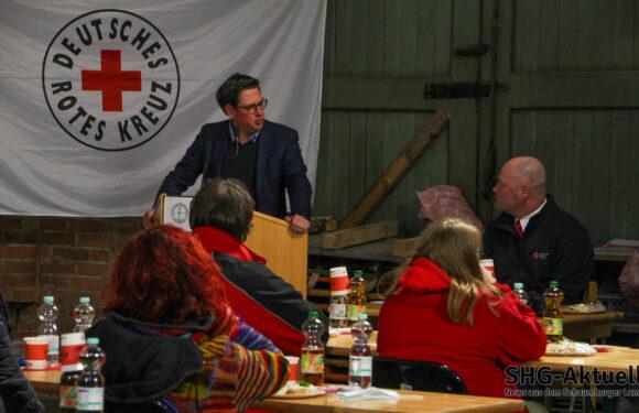 Rund 2000 Stunden ehrenamtliche Arbeit geleistet: Corona-Pandemie schränkt Vereinsbetrieb des Bückeburger DRK stark ein