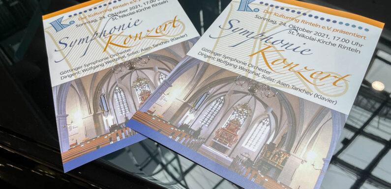 Rinteln: Göttinger Symphonie Orchester spielt Werke von Beethoven in der Nikolaikirche