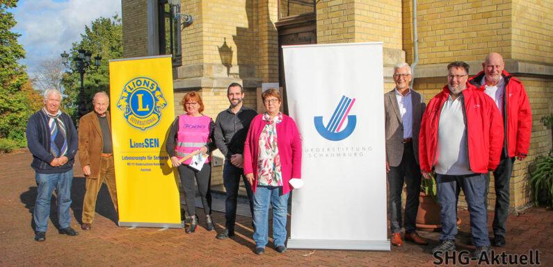 """Mehr als nur Bewegung: Projekt """"3000 Schritte"""" in Bückeburg von Lions Club, Bürgerstiftung Schaumburg, DRK und Blindow Schulen"""